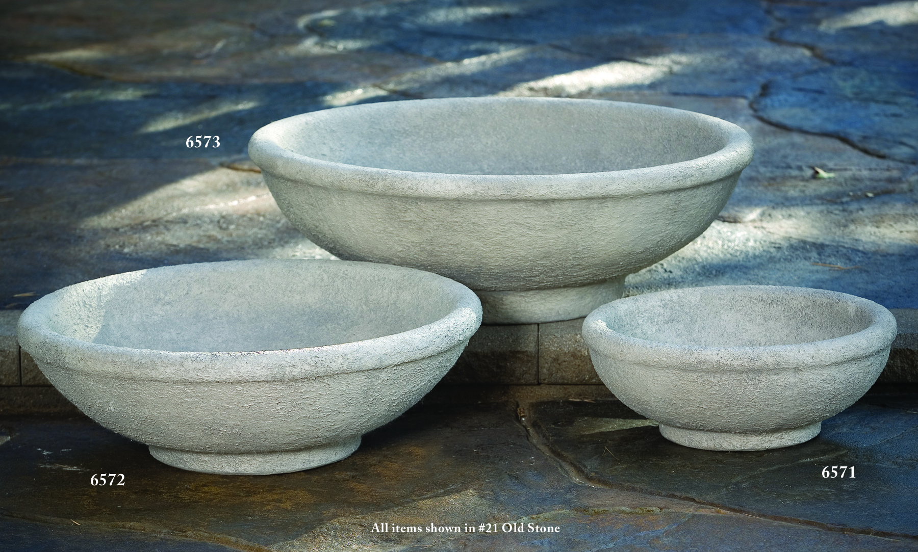 Fresh Large Low Bowl Planter | Massarelli's PA28