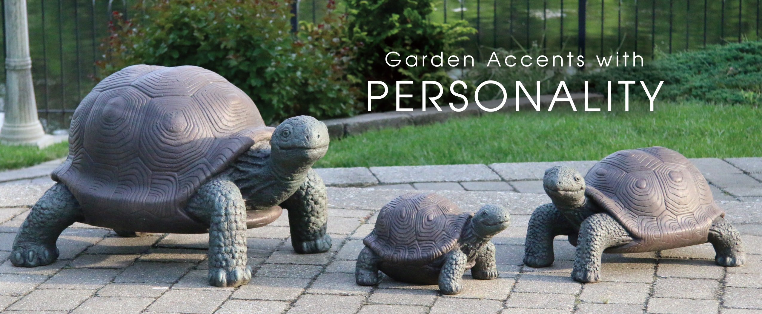 Garden Accents with Personality