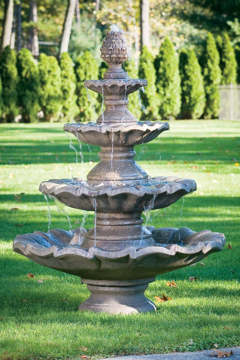 Large Four Tier Fountain Massarelli S