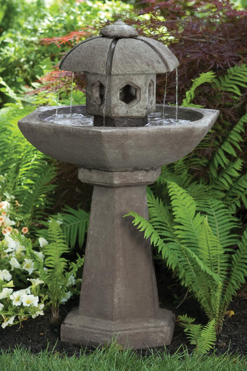 42 Quot Spring Rain Pagoda Fountain Massarelli S