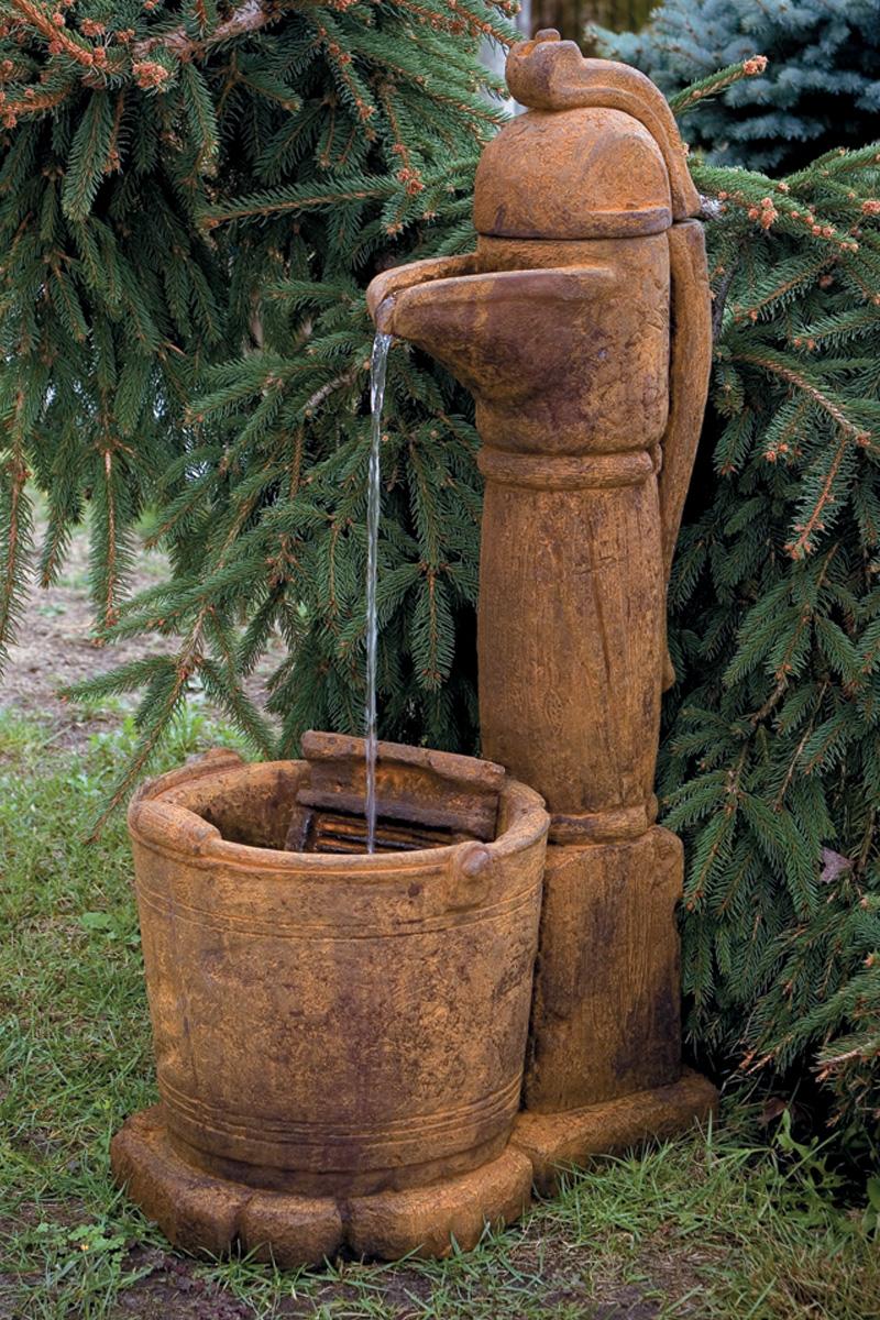 Country Pitcher Pump Fountain Massarelli S