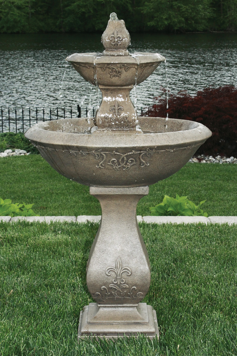 Two Tier Oval Jubilee Fountain Massarelli S