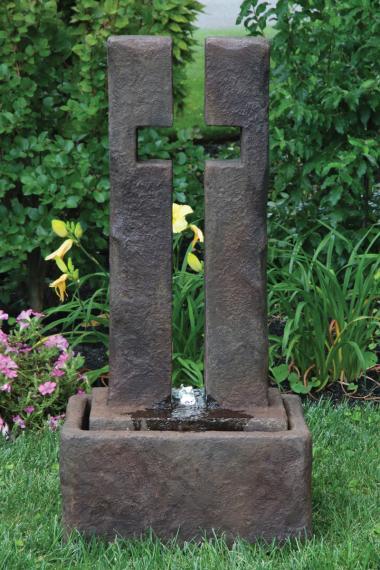 41 Quot Open Works Cross Fountain Massarelli S