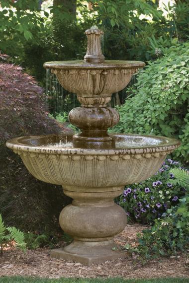 67 Quot Florentine Fountain With Globed Pedestal Massarelli S