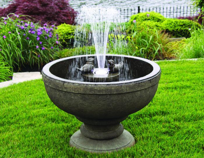 26 Quot Fleur De Lis Bird Fountain Massarelli S