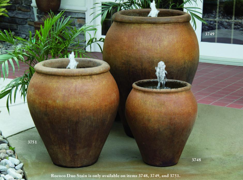 Lazio Jar Fountains | Massarelli's